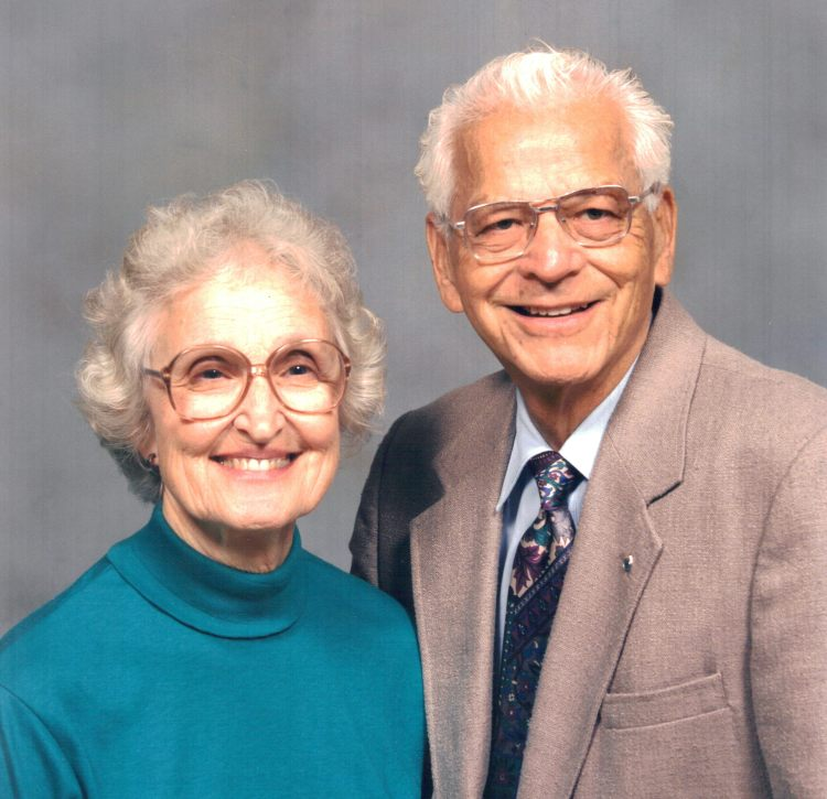 Photo of Alice and David Wolfe